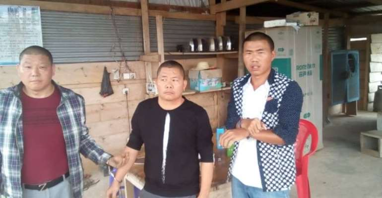 7 Illegal Chinese Miners Arrested