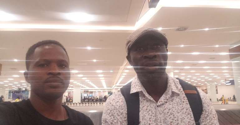 Meet Iky Marmah; the Ghanaian who saved a Man on board British Airways from dying