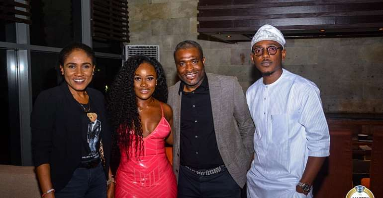 Tobi & CeeC Spotted At Dinner After Explosive BBNaija Reunion Episode