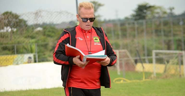 Sack All Of Them With The Exception Of George Amoako - Kjetil Zachariassen Tells Kotoko Hierarchy