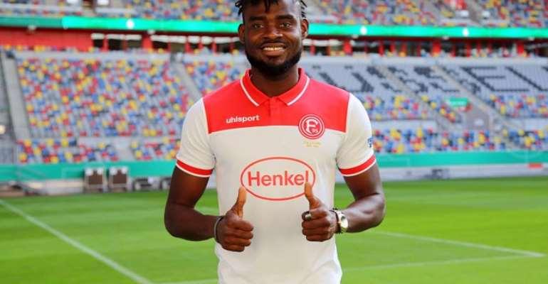 Fortuna Dusseldorf Rejects Offer To Sign Ghana Defender Kassim Adams Permanently