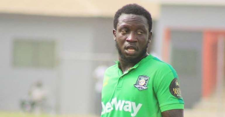 Aduana Stars Elvis Opoku Ready To Join Struggling Legon Cities