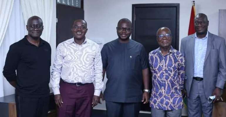 All African Games 2023: LOC visit Works and Housing Minister