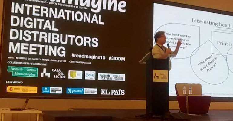 The 3rd International Digital Distributors Meeting Held in Madrid, Spain.