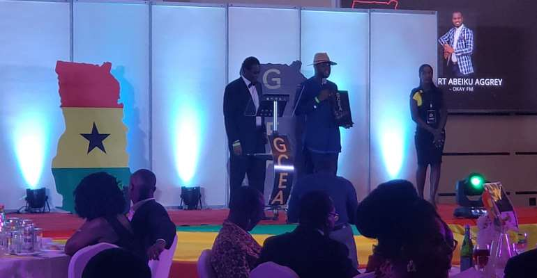 Abeiku Santana and Afia Pokua win Excellence in Media Awards