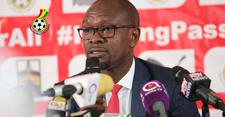 Black Stars head coach CK Akonnor