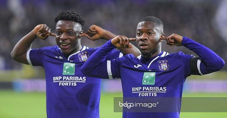 Ghanaian Players At Anderlecht To Skip One Month's Wages