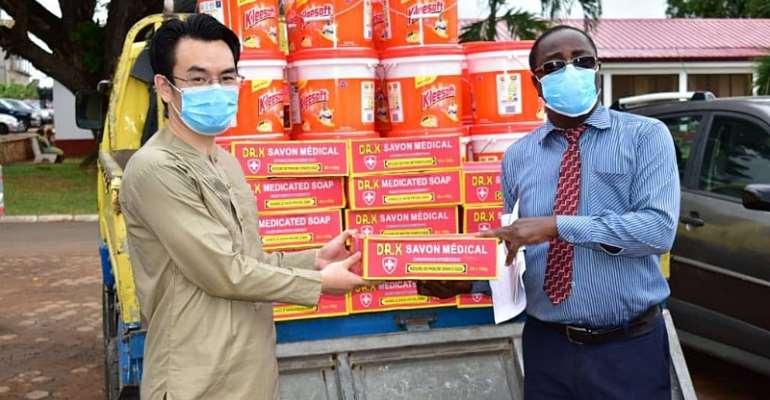 Coronavirus: Noguchi Institute Gets Support From SUNDA Group