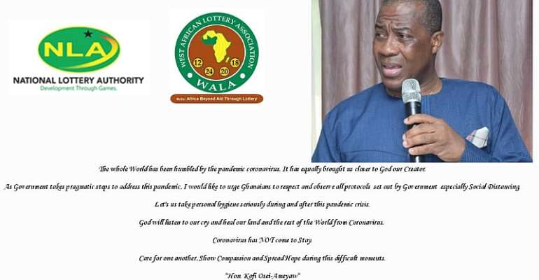 God Will Listen To Our Cry And Heal Our Land From Coronavirus--NLA Boss Assures