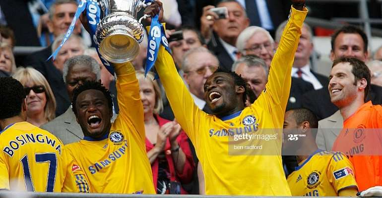 Michael Essien Named In John Obi Mikel's Greatest African Teammates