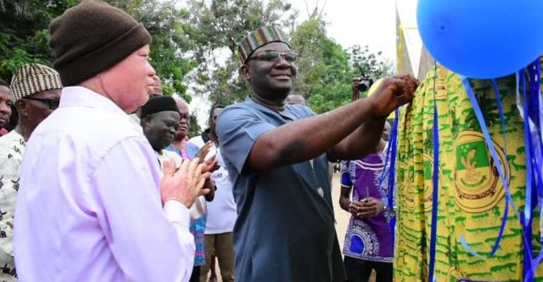 Dr. Bitugu Multipurpose Sports Court Commissioned At Ketasco