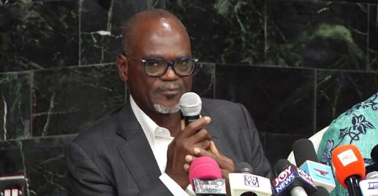 Dr. Kofi Amoah  Explains FIFA Mandate Extension