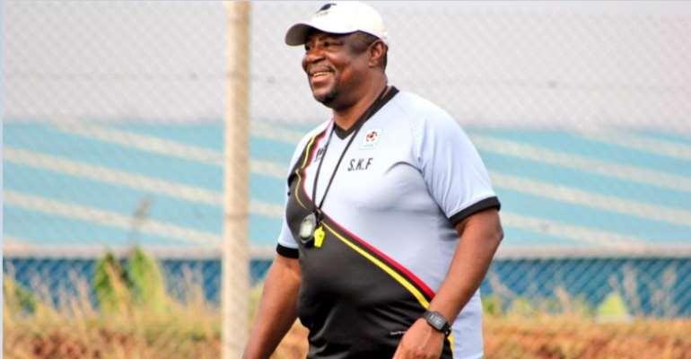 Paa Kwesi Fabin Starts Work As Uganda U-17 Head Coach [PHOTOS]