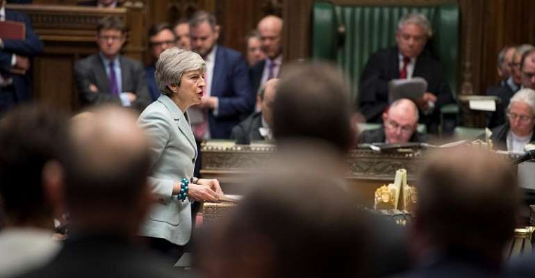 UK Parliament/Mark Duffy/Handout via REUTERS