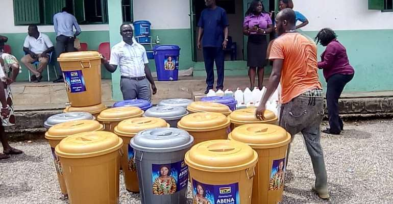 Atiwa-East MP Supports Coronavirus Fight With Donation To 12 CHPS Compounds, 3 Health Centres