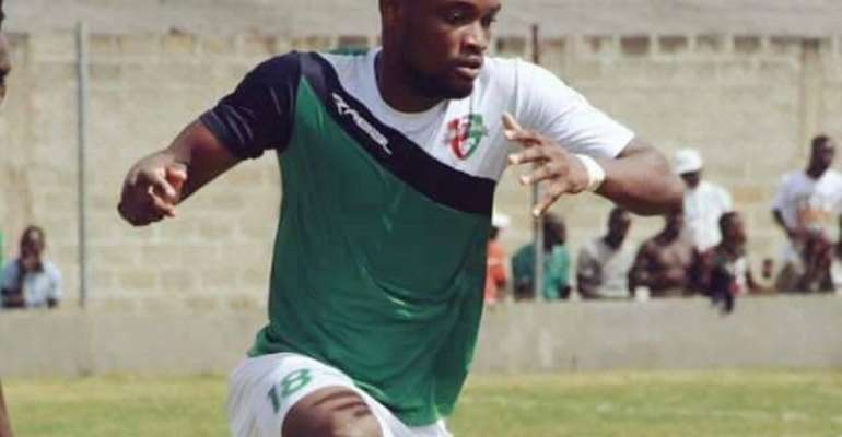 Karela United midfielder Emmanuel Keyekeh