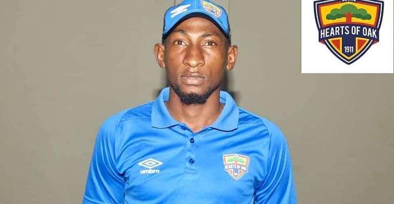 OFFICIAL: Hearts Of Oak Sign Niger Midfielder Mamane Lawali