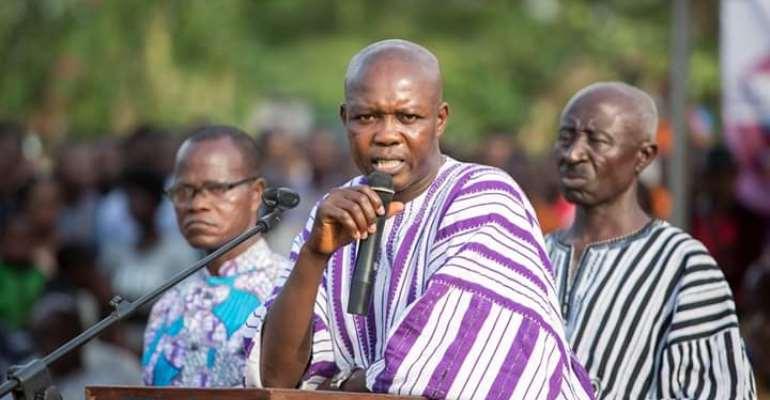 Akatsi South MP Fights Coronavirus