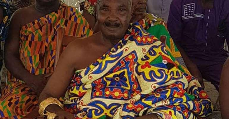 Nana Boakye Ansah Debrah, the Asokore Mamponghene