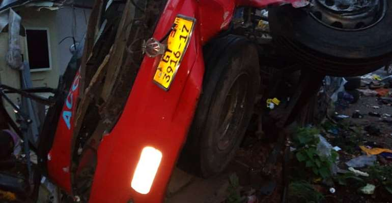 NDC Chairman Loses Wife, 2 Children In Kintampo Crash