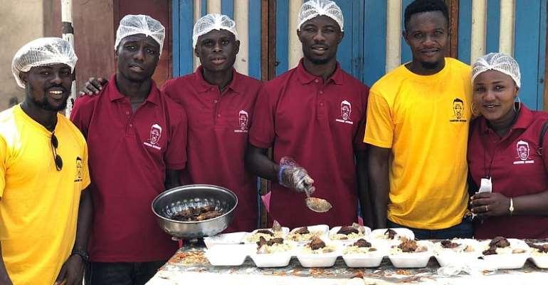 Kwaku Manu Fetes the Homeless and
