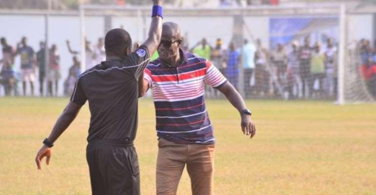 Bechem Utd Coach Kwaku Danso Fined GH¢5000; Set To Serve 3-Match Suspension