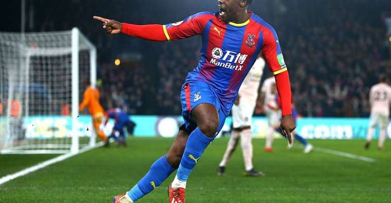 Ghana's Jeffery Schlupp Agrees New Three-Year Deal At Crystal Palace