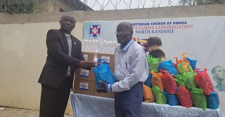 COVID-19: Presbyterian Church Of Ghana, Christ's Family Donates Food Items