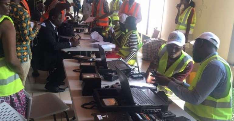 E/R: NIA Eats Humble Pie; Suspends Ghana Card Registration
