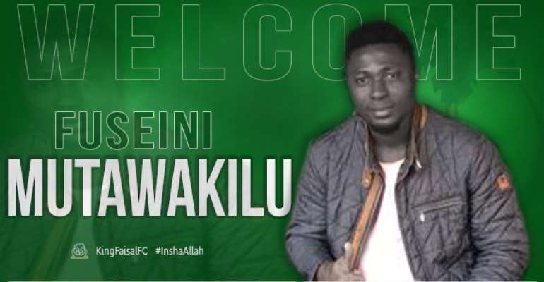 King Faisal Seal Transfer Of Defender Mutawakilu Fuseini
