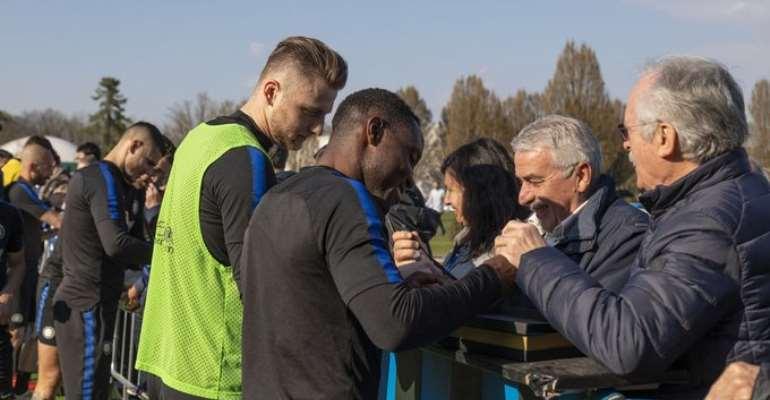 Kwadwo Asamaoh Shockingly Returns To Inter Milan