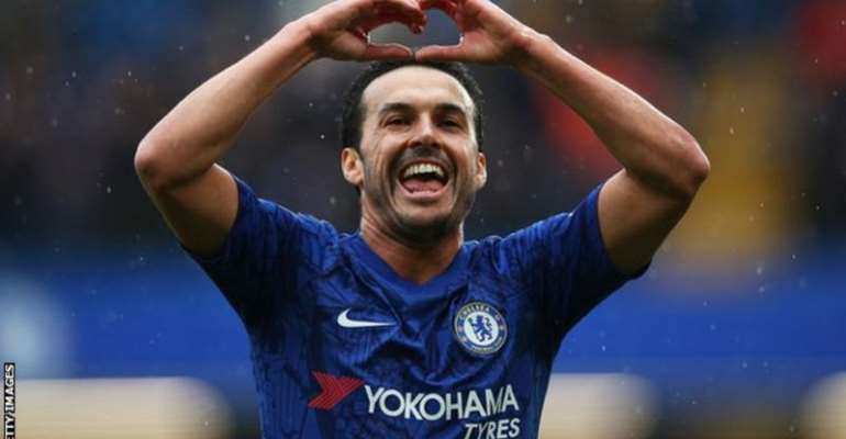 Pedro joined Chelsea in August 2015
