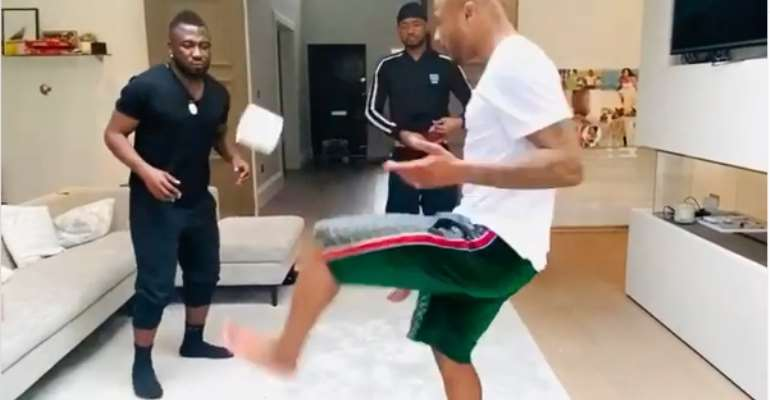 Coronavirus: This Is How Ayew Brothers Are Getting Themselves Busy [VIDEO]