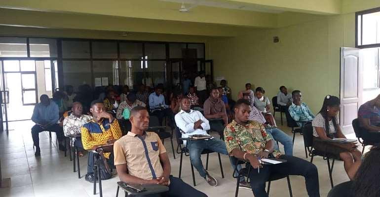 Awutu Senya East NABCO Secretariat Educates Trainees On COVID-19