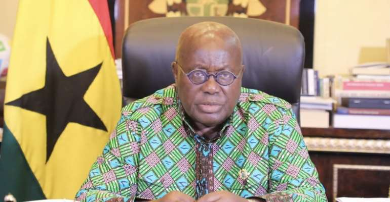 COVID-19 Restricted Movement: Full Text Of Akufo-Addo's Nation Address
