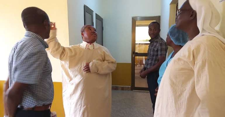 COVID-19: West Gonja Hospital Laments Over Lack Of Personal Protection Equipment