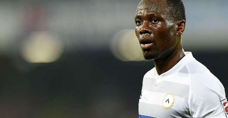 Ghanaian midfielder Emmanuel Agyemang Badu