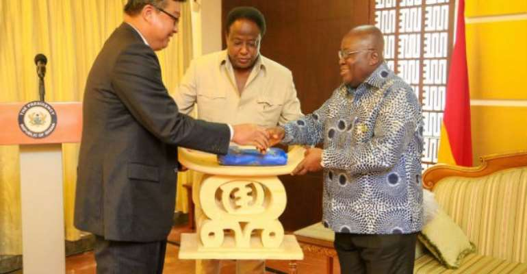 Malaysian High Commissioner bids farewell to Akufo-Addo