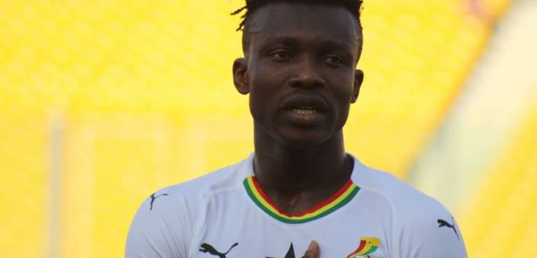Joseph Aidoo Delighted To Make Black Stars Debut