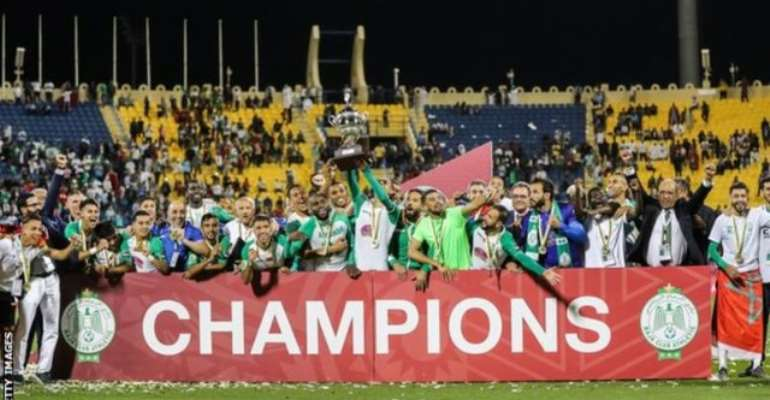 Morocco's Raja Casablanca have now won the African Super Cup twice (2000 and 2019)