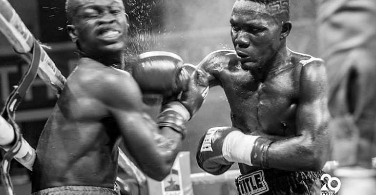 Michael 'One Bullet' Ansah Declares Readiness For Patrick Ayi 'The Alligator'