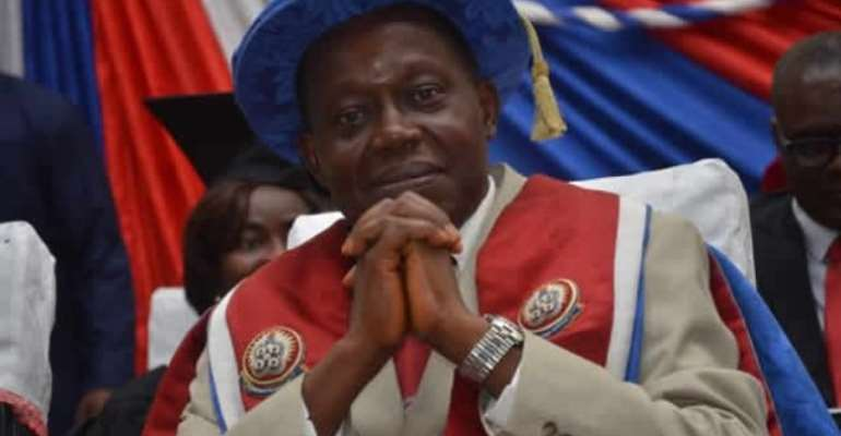 Prof. Afful-Broni will answer to the impasse in the University