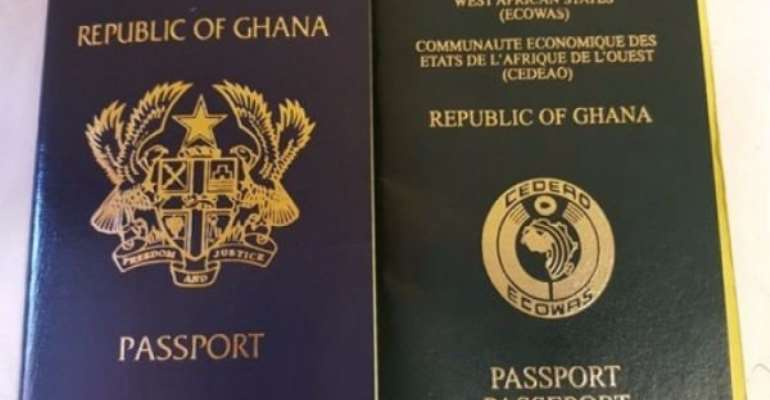 10-year Ghanaian Validity Passport To Be Issued April 1