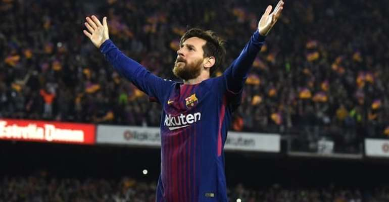 Messi Takes Top Three Spots In Vote For Barcelona's Best Ever Goal