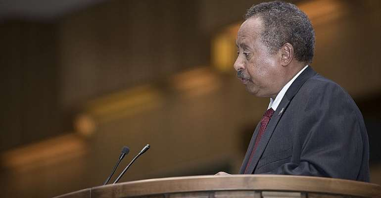 Sudan's new prime minister, Abdalla Hamdok. He recently survived an assassination attempt.  - Source: Wikimedia Commons