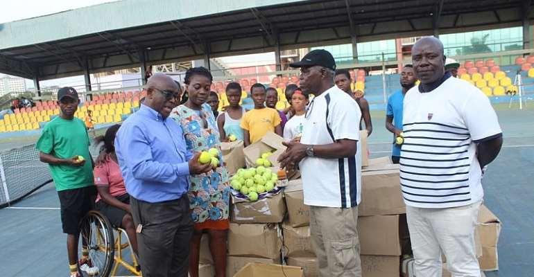 Soliver Foundation Donates To Ghana Tennis Federation