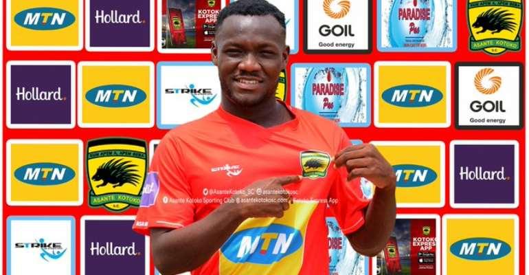 CONFIRMED: Asante Kotoko Snap Up Emmanuel Sarkodie On A Three Year Deal