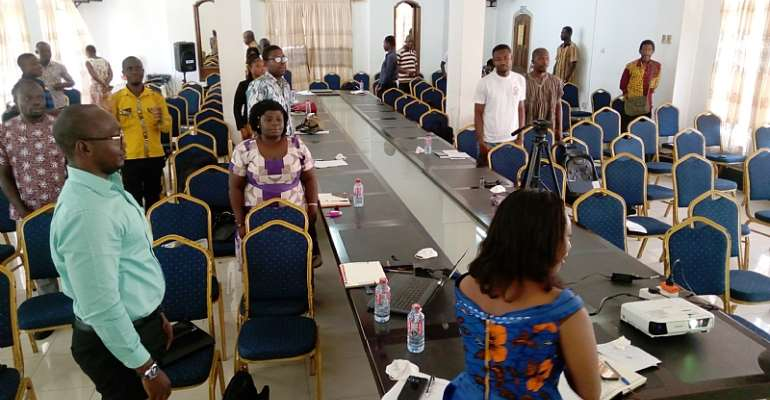 Central Region ISD Trains Its Officers On COVID-19