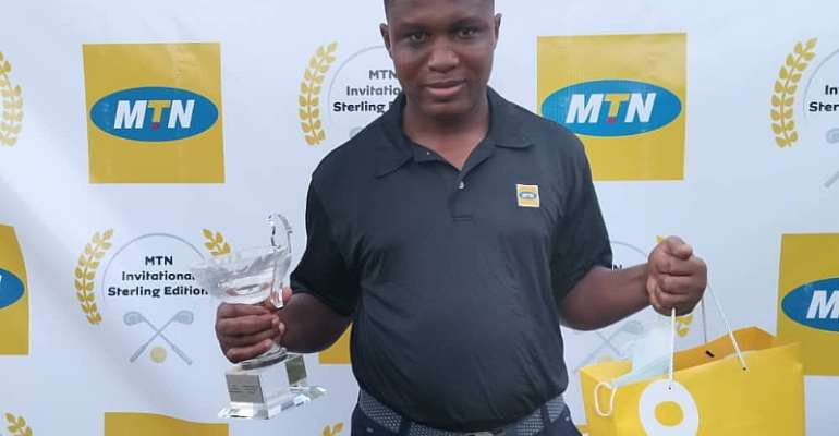 Christopher Mbii claims MTN Invitational Golf Sterling Edition Silver Cup