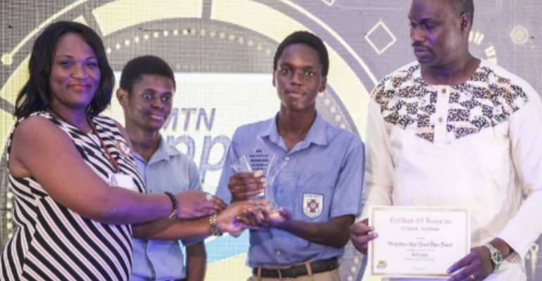 Amatsii App Adjudged Overall Best App At MTN Apps Challenge